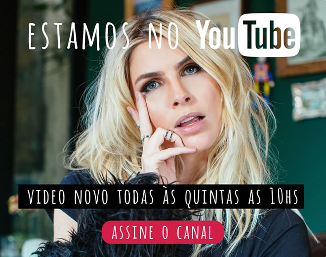Estamos no YouTube!